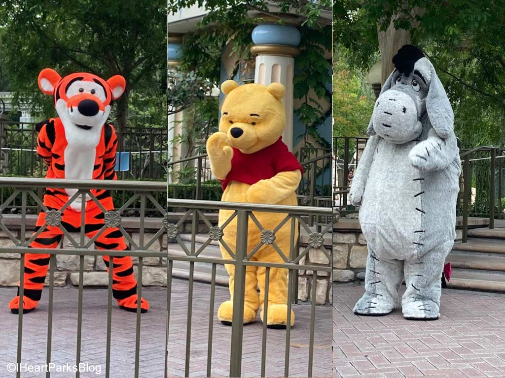 Pooh characters