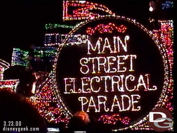 Main Street Electrical Parade (March 2000)