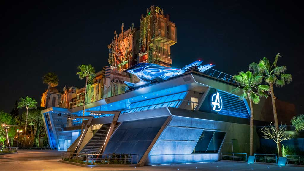 Avengers Campus, opening June 4, 2021, at Disney California Adventure Park in Anaheim, California, will invite guests of all ages into a new land where they will sling webs on the first Disney ride-through attraction to feature Spider-Man. The immersive land also presents multiple heroic encounters with Avengers and their allies, like Iron Man, Black Panther, Black Widow and more. At Pym Test Kitchen, food scientists will utilize Ant-Man and The Wasp's shrinking and growing technology to serve up perfectly sized snacks. (Christian Thompson/Disneyland Resort)