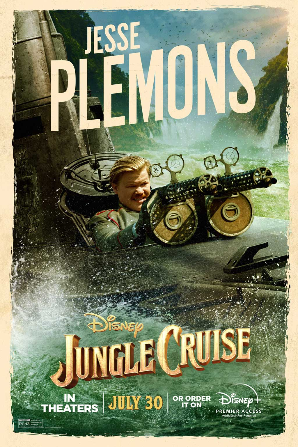 The jungle Cruise Movie Poster