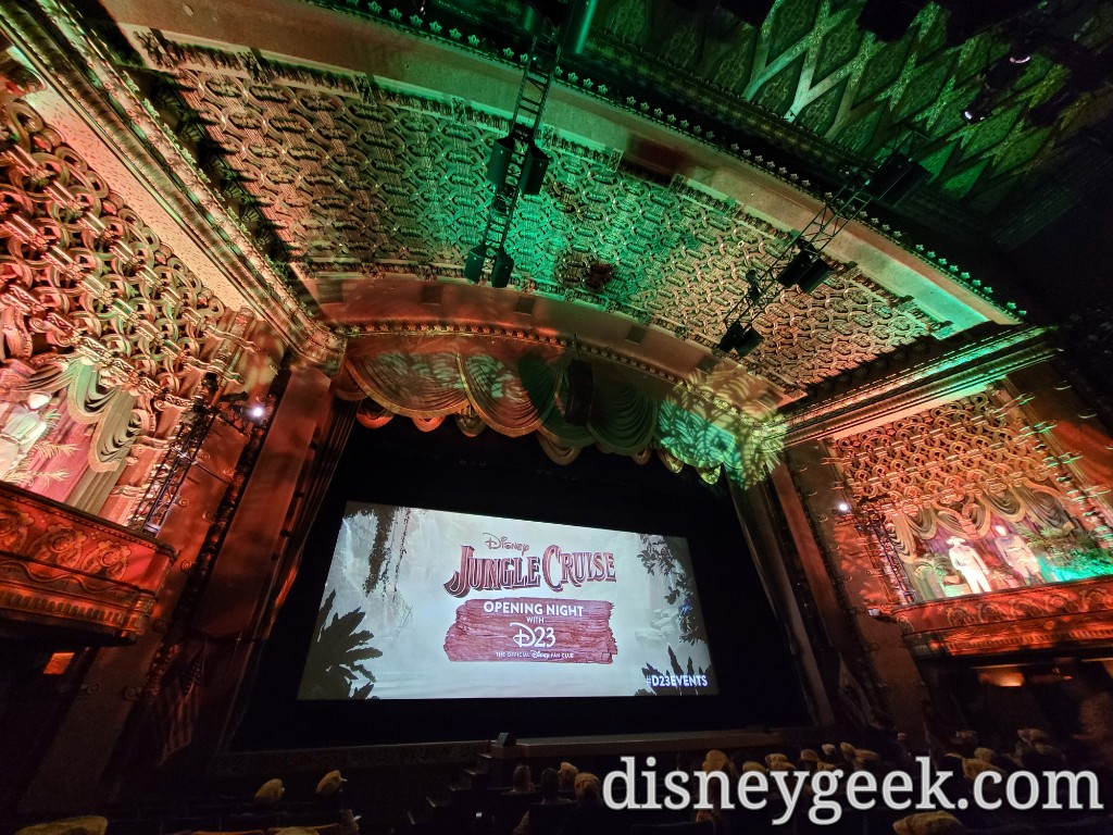 A look at the El Capitan once seated