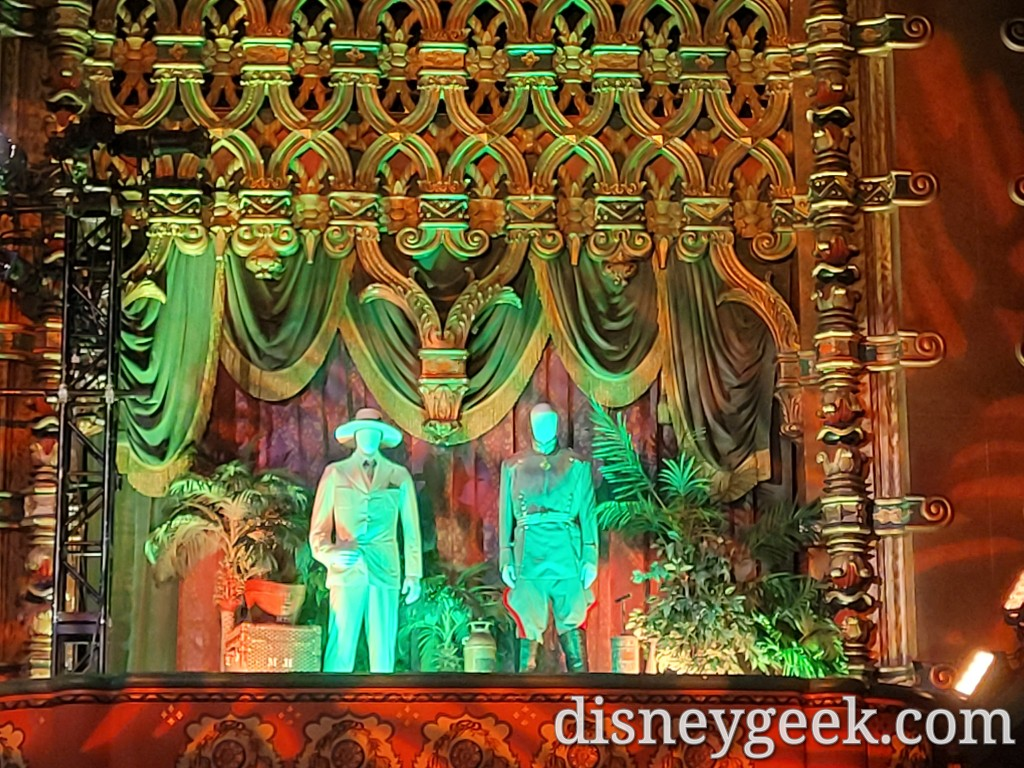 The other side featured Jack Whitehall and Jesse Plemons costumes