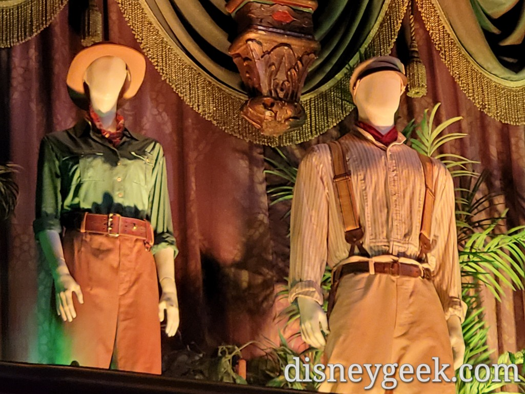 A closer look at the costumes.