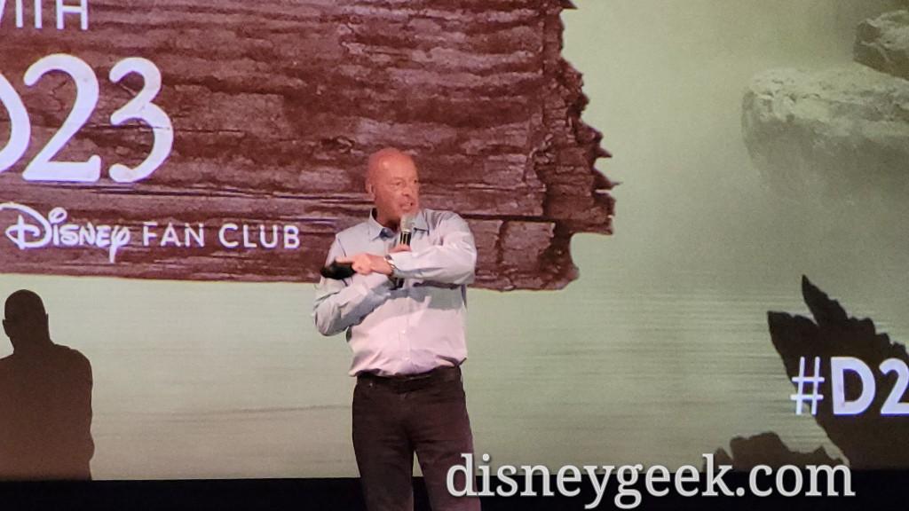 Bob Chapek, CEO of the Walt Disney Company