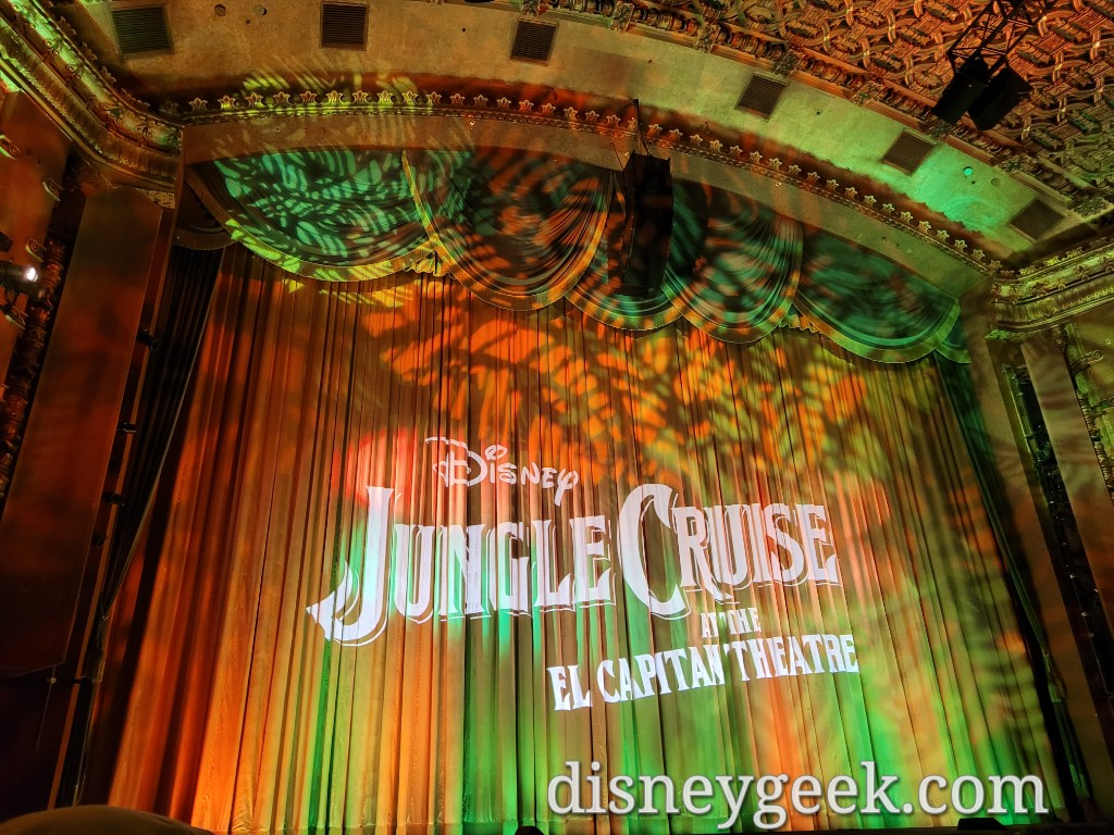 Show time for the Jungle Cruise
