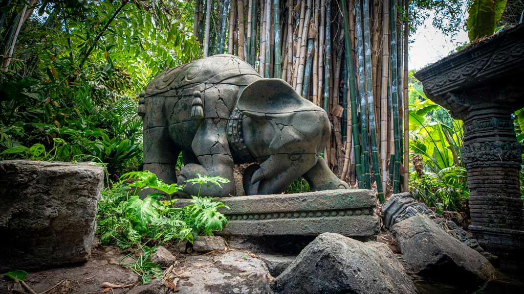 The world-famous Jungle Cruise at Disneyland Park officially reopens on July 16, 2021, with new adventures, an expanded storyline and more humor as skippers take guests on a tongue-in-cheek journey along some of the most remote rivers around the world. The new creative concept is original to Walt Disney Imagineering, just like the classic attraction itself. (Christian Thompson/Disneyland Resort)