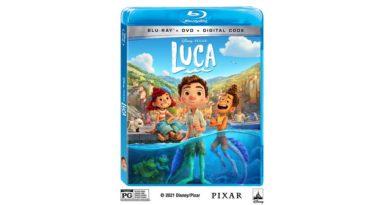 Luca Blu-ray Cover