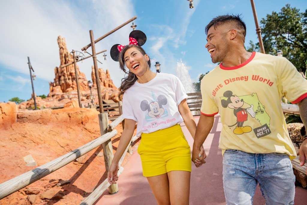 """The Vault Collection is a new merchandise line that will launch as part of """"The World's Most Magical Celebration,"""" an 18-month extravaganza that begins Oct. 1 at Walt Disney World Resort in Lake Buena Vista, Fla. (Disney)"""