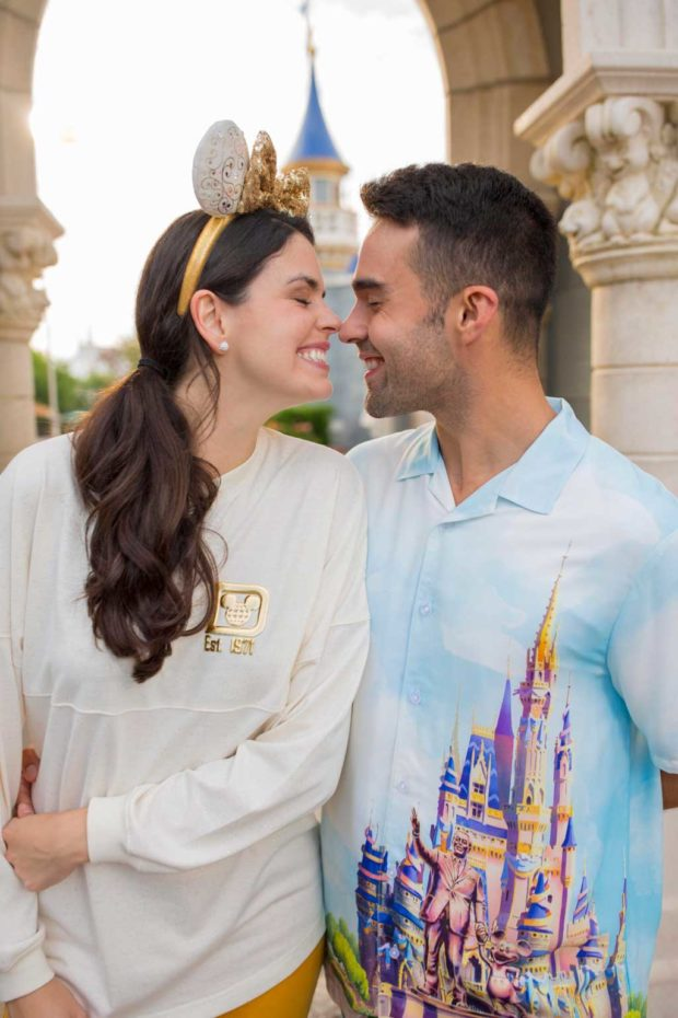 """The Disney Castle Collection is a new merchandise line that will launch as part of """"The World's Most Magical Celebration,"""" an 18-month extravaganza that begins Oct. 1 at Walt Disney World Resort in Lake Buena Vista, Fla. (Disney)"""