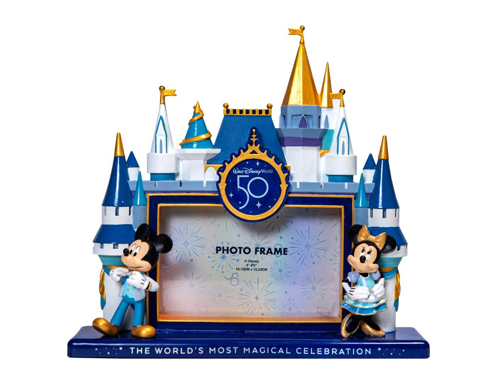 """The Celebration Collection is a new merchandise line that will launch as part of """"The World's Most Magical Celebration,"""" an 18-month extravaganza that begins Oct. 1 at Walt Disney World Resort in Lake Buena Vista, Fla. (Disney)"""