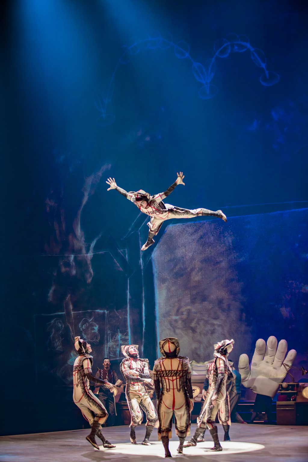After more than a year of waiting, Cirque du Soleil Entertainment Group and Disney Parks, Experiences and Products are excited to announce that Drawn to Life is scheduled to open on Nov. 18, 2021. The new family-friendly show coming to Walt Disney World Resort in Lake Buena Vista, Fla., is a collaboration between Cirque du Soleil, Walt Disney Animation Studios and Walt Disney Imagineering and will take residency at Disney Springs (Matt Beard, Photographer).