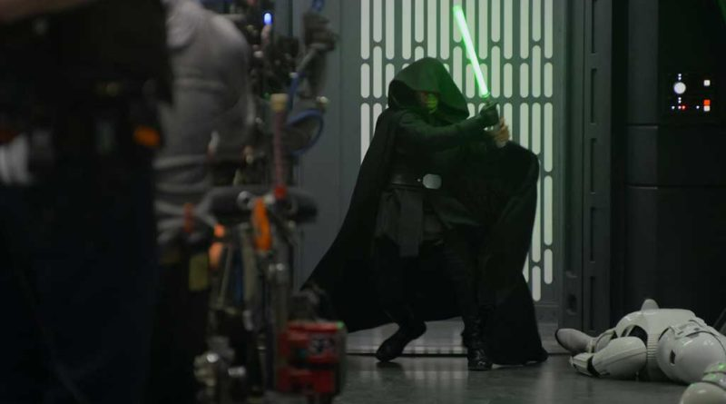 Mark Hamill on the set of THE MANDALORIAN, season two, exclusively on Disney+. © 2021 Lucasfilm Ltd. & ™. All Rights Reserved.
