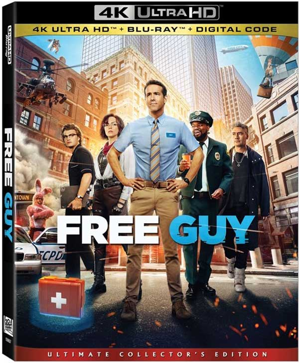 Free Guy Home Video Package