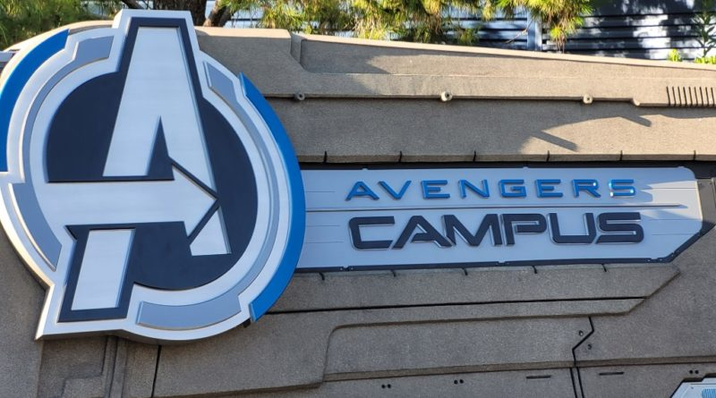 Pictures:  My 1st Visit to Avengers Campus
