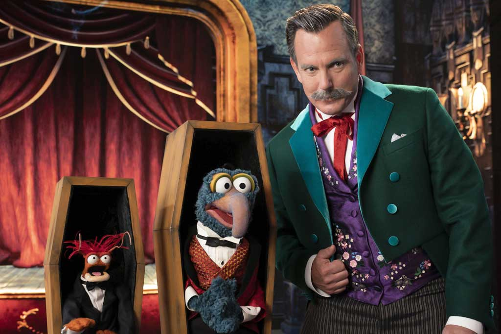The Muppet Haunted Mansion - PEPE THE KING PRAWN, GONZO, WILL ARNETT