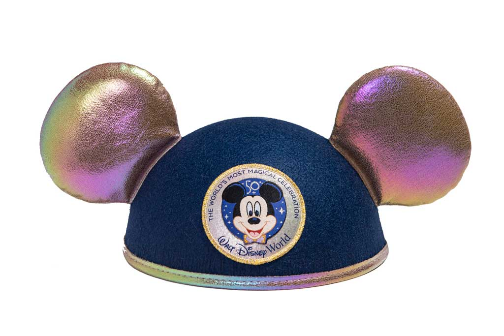 """The Celebration Collection includes a wide-ranging assortment of commemorative merchandise for the whole family. The collection is part of """"The World's Most Magical Celebration,"""" an 18-month extravaganza that begins Oct. 1 at Walt Disney World Resort in Lake Buena Vista, Fla. (Disney)"""
