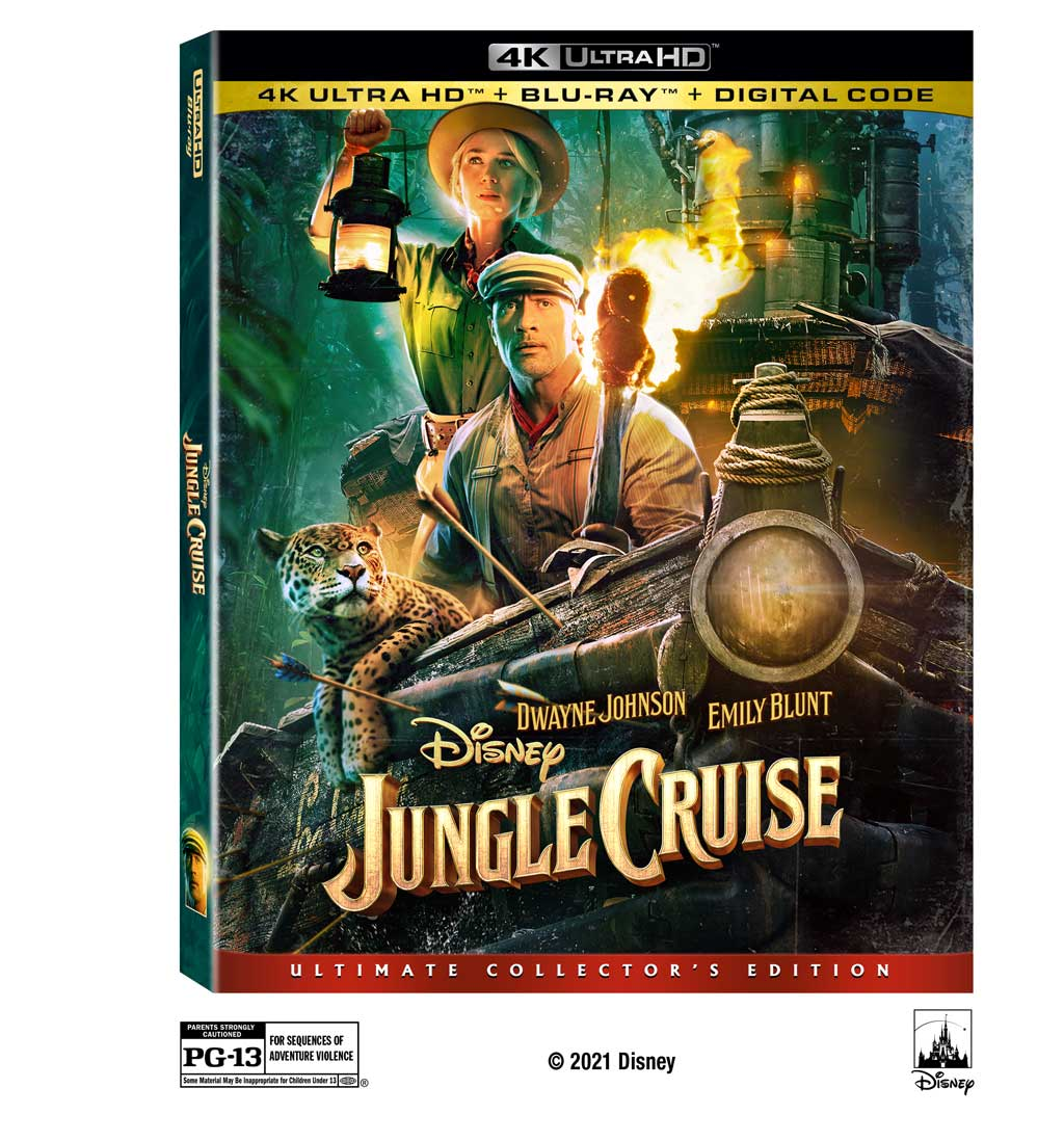Junge Cruise Home Video - 4Kdisc