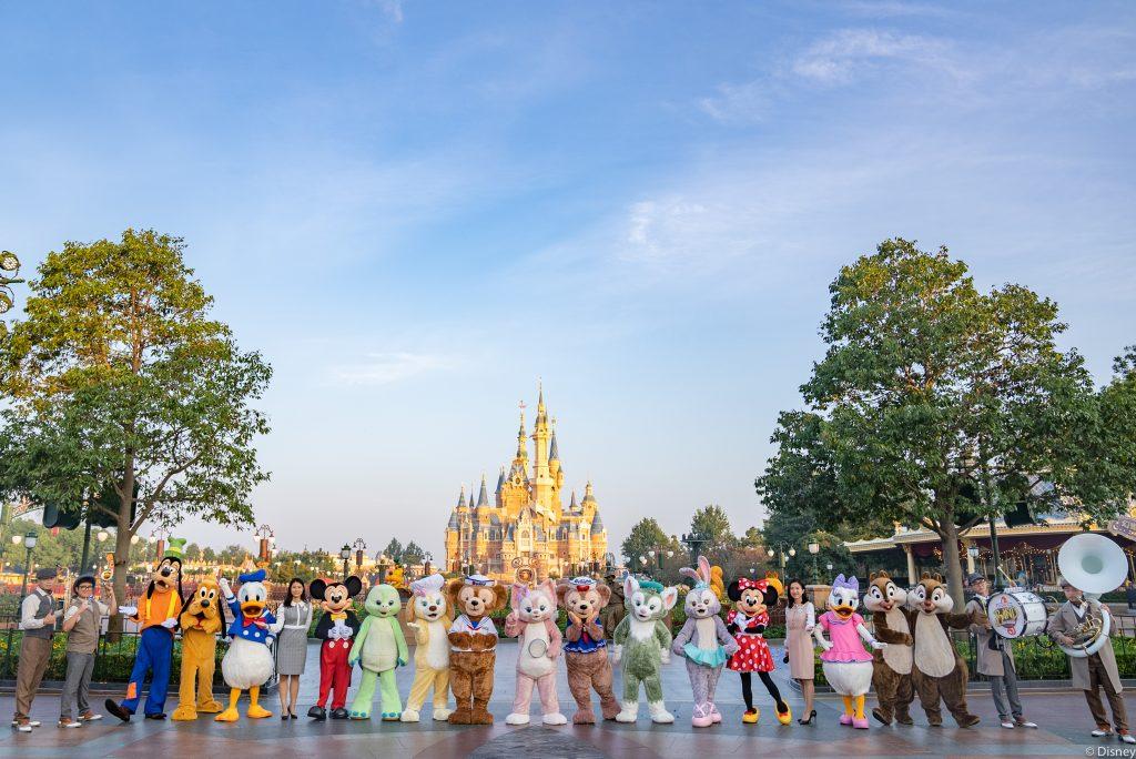LinaBell Debut @ Shanghai Disneyland