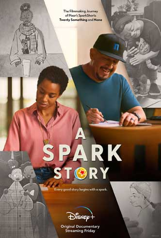 A Spark Story Poster