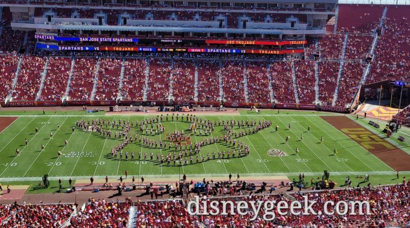 USC Band Halftime Show: WandaVision, Loki & Mandalorian