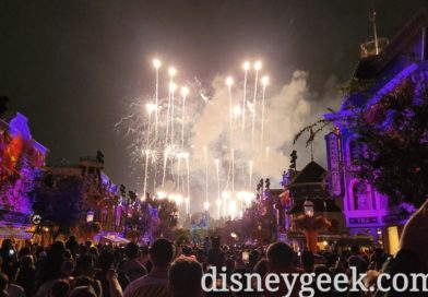 Closed out my evening with Halloween Screams Fireworks (Pictures & Video)