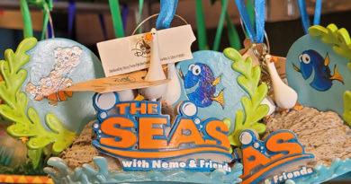 The Seas with Nemo & Friends Ornament