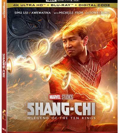 Shang-Chi 4K Disc box