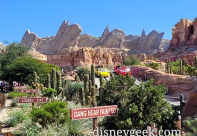 Radiator Springs Racers –  Ornament Valley – Cars Land