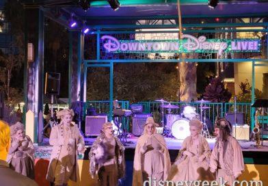 SCAREolers Performing in Downtown Disney